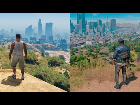 Thumbnail: Watch Dogs 2 VS GTA V | COMPARISON | Comparativa