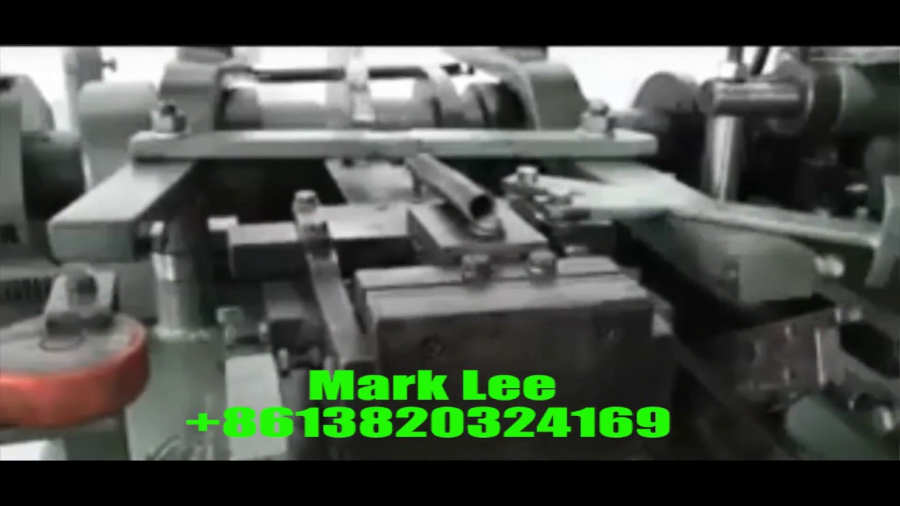 Cotton bale wire machine - YouTube