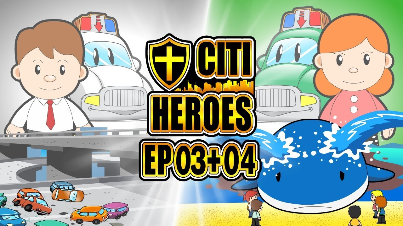 "Citi Heroes EP03+04 ""Doctor + Scientist"""