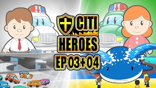 "Citi Heroes EP03+04 ""Doctor + Scientist"""