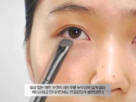 Trang điểm da nâu kiểu Hàn Quốc makeup