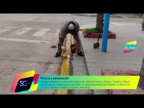 Obras y Servicios Públicos en sectores de la ciudad