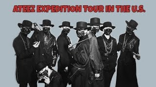 ATEEZ EXPEDITION TOUR IN THE U.S. + VLIVE // FUNNY AND CUTE MOMENTS