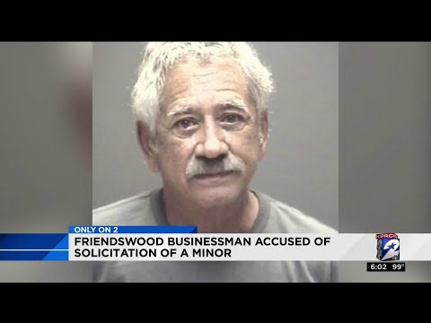 Friendswood businessman accused of solicitation of a minor