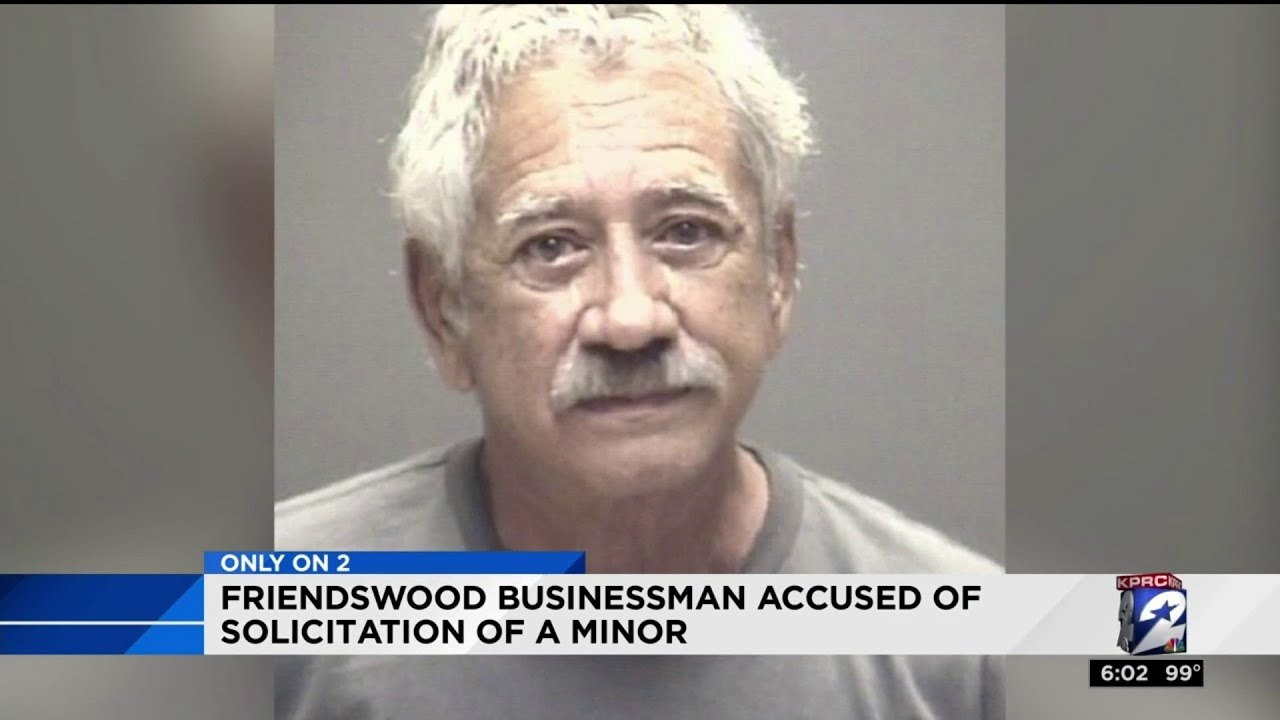 White  businessman arrested for solicitation of a minor