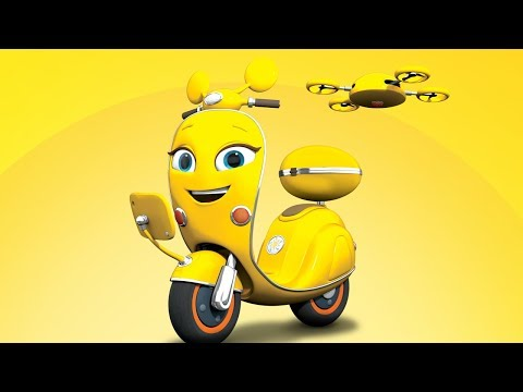 Ricky Zoom Español Latino | ¡Scootio! | ¡Ricky Zoom, Míralo En Discovery Kids!
