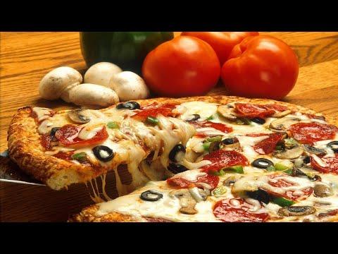 صورة  طريقة عمل البيتزا طريقة عمل بيتزا فى اقل من 10 دقائق واحسن من بيتزا المحلات 2020 طريقة عمل البيتزا من يوتيوب