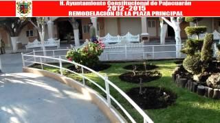 Rehabilitación de la Plaza Principal en la Cabecera Municipal de Pajacuarán