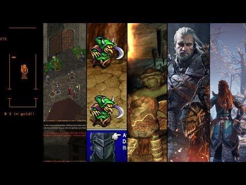 The Evolution Of RPG Games(1974-2019)