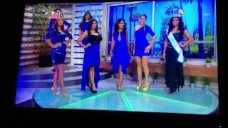 Miss Guatemala US Azteca America Coffee Break (2)