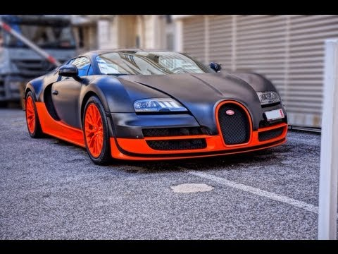 Bugatti Veyron Super Sport in WRE color scheme - Cannes