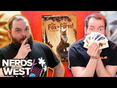 The Fox In The Forest | Board Game Playthrough