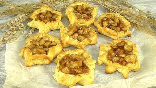 Буду готовить, пока духовка не сломается! Простой и вкусный рецепт печенья с начинкой за 15 минут