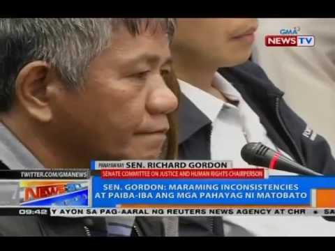 GMA's Kara David Nga Nga! sa Interview with Sen. Richard Gordon