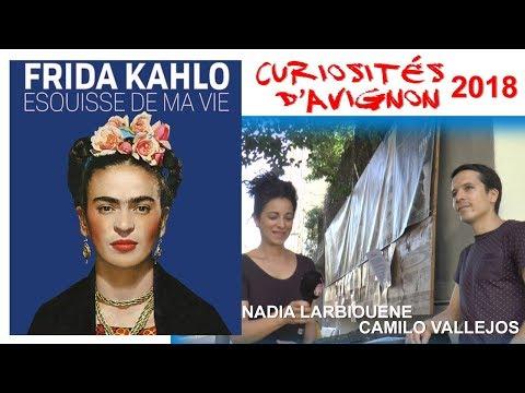 Curiosités d'Avignon   Frida Kahlo