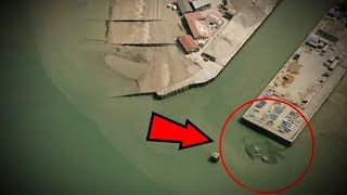 5 Unknown Creatures Caught On Google Maps! Free HD Video