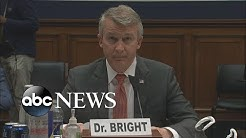 Dr. Rick Bright testifies before Congress