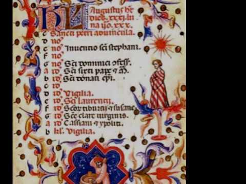 Old Roman chant - Domine audivi auditum tuum