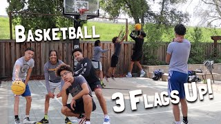 "The Basketball ""3 Flags Up"" Challenge!!"