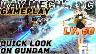 Dragon Nest Korea  Quick Look on Ray Mechanic Transformation Robot Gameplay LoLi Spin Off Class