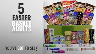 Top 10 Easter Basket For Adults [2018]: Healthy Snacks Gift Basket Care Package - 32 Health Food