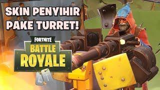 SKIN WITCH PAKE TURRET! -Fortnite: Battle Royale (w/GemmaD)