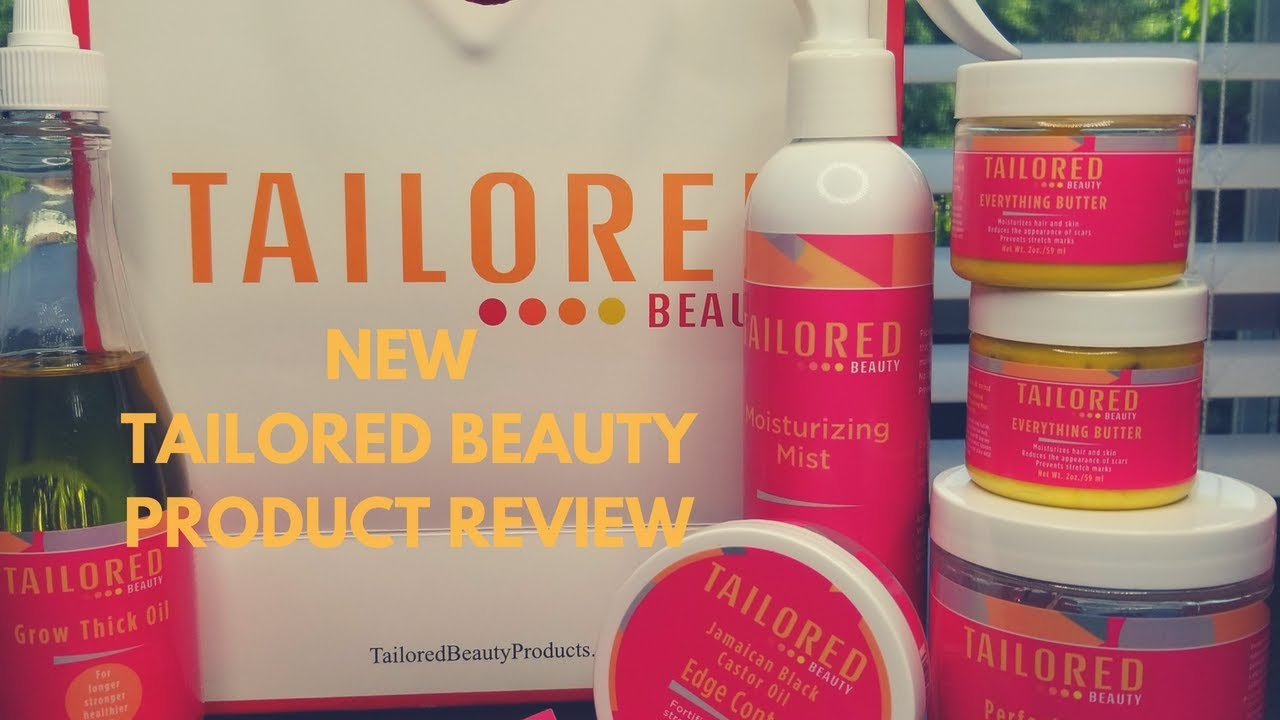 Relaxing with Tailored Beauty   Product Review - YouTube
