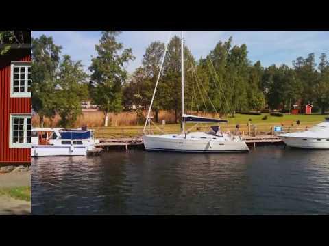 Boat trip from Karlsborg, Sweden, via Göta Canal and Lake Vättern