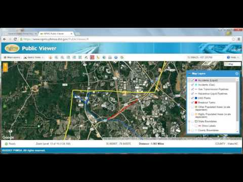 How To Locate Pipelines In Your Area With The National Pipeline Mapping System (NPMS)
