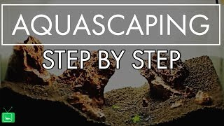 AQUASCAPING STEP BY STEP - EINFACH ERKLÄRT |  Tutorial | GarnelenTv