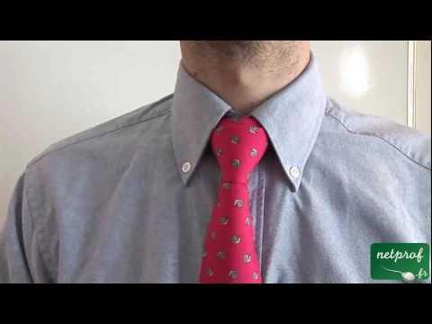 Arts de vivre : Noeud de cravate double
