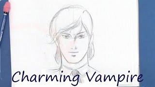 Learn to Draw a Vampire