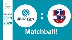 Matchball! SWD powervolleys Düren - United Volleys Frankfurt, Pokal-Viertelfinale 19/20