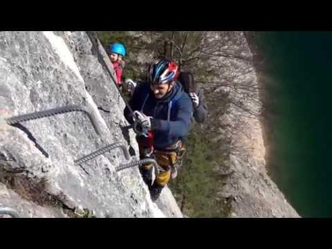 Laserer Alpin Klettersteig : Laserer alpin klettersteig c gosau oÖ youtube