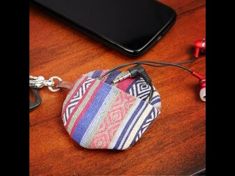 how to make a earbud case