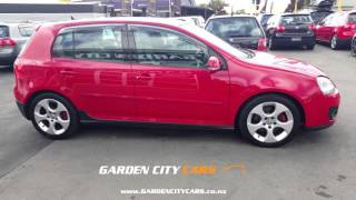 1480 2007 GOLF GTI 6SPD 23KMS FULL LEATHER Walkaround video