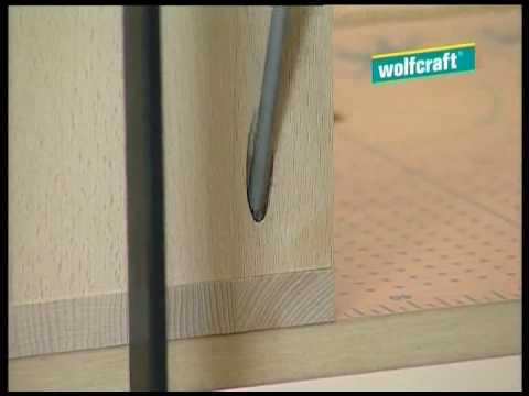 wolfcraft set per facili giunzioni undercover jig youtube