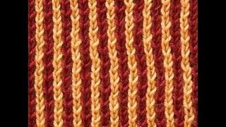 Двухцветная патентная резинка