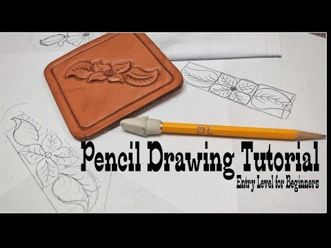 Leather Craft: Pencil drawing tutorial for beginners
