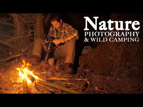 NATURE PHOTOGRAPHY And WILD CAMPING   The Beauty Of Sleeping In Nature And Simple Bushcraft