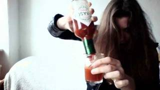 TABASCO Challenge: Drinking Tabasco (150-175ml) - INSANE!