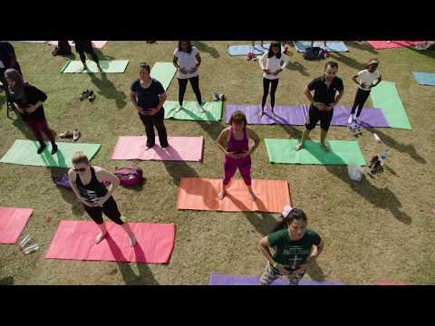 Dubai Fitness Challenge Day 1 Opening Carnival Safa Park