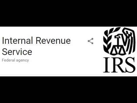 What's the official Website of the IRS Internal Revenue Service?