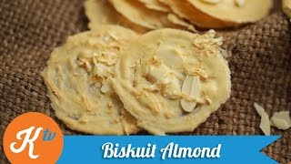 Resep Biskuit Almond (Almond Tuile Recipe Video)