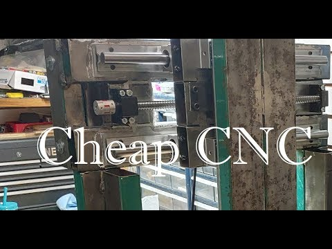 Cheap CNC in the making, no mill, no lathe
