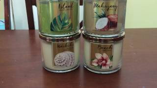 B&bw and TJ Max candle haul May 11, 2017