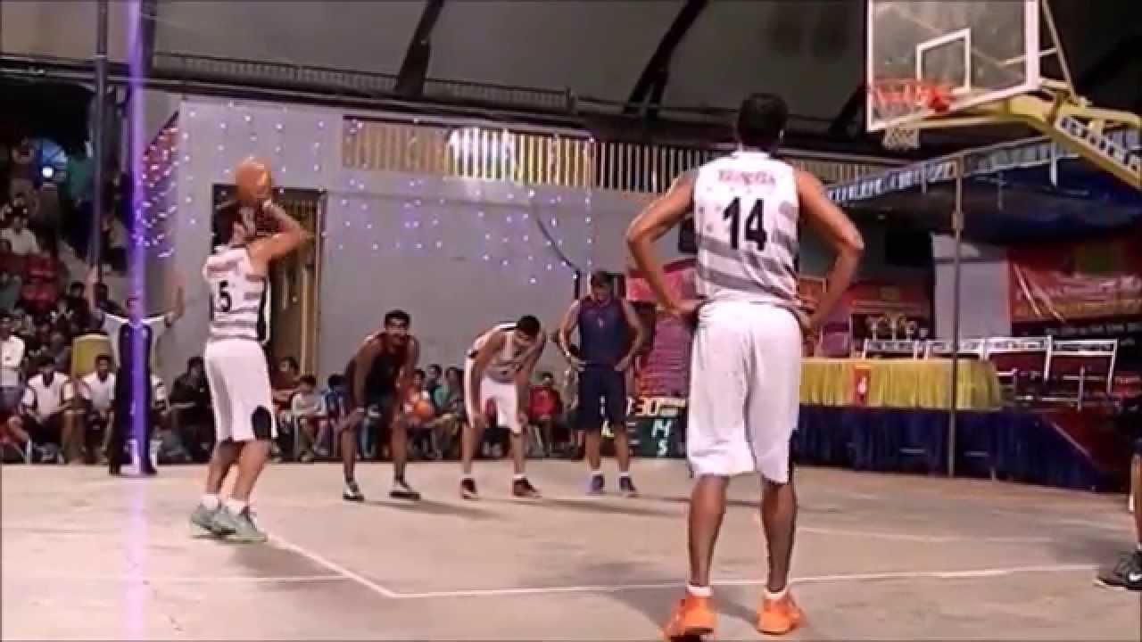 Indian Basketball Inter Club Match Indian Overseas Bank Vs