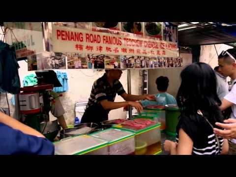 Famous Penang Teochew Chendol
