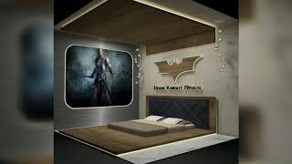 Teenage Modern Bedroom Interior design #unique gaming theme interior