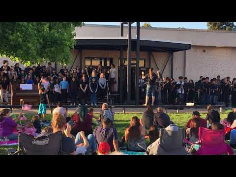 Farb Middle School spring concert with teacher Robin Dye 3
